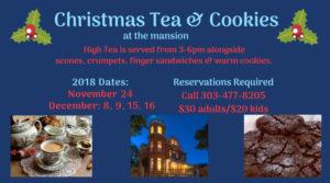 Christmas Tea Cookies At The Mansion The Lumber Baron Inn